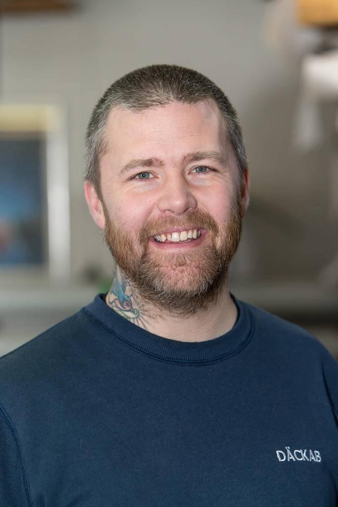 Peter Hurtig Däckab Sveg. Foto: Morgan Grip / Mediamakarna Grip