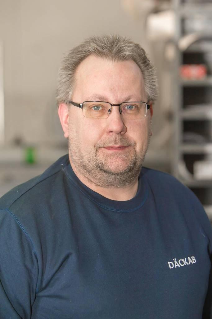 Mikael Sandberg Däckab Sveg. Foto: Morgan Grip / Mediamakarna Grip