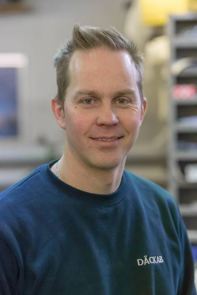 Henrik Nermoen Däckab Sveg. Foto: Morgan Grip / Mediamakarna Grip