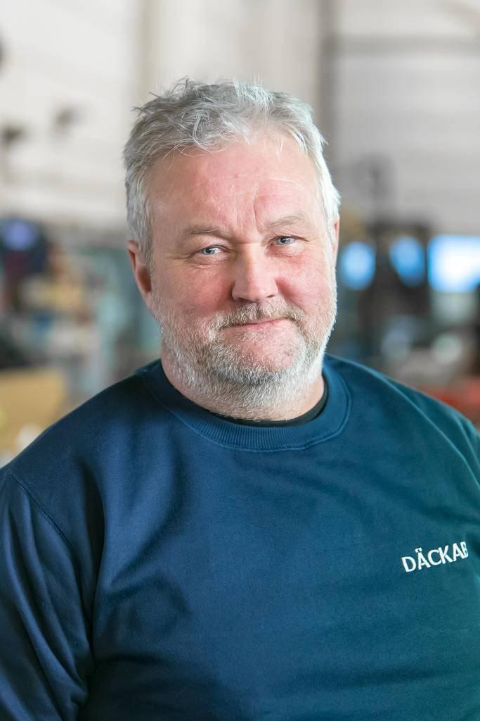 Ulf Martinsson Däckab Sveg. Foto: Morgan Grip / Mediamakarna Grip