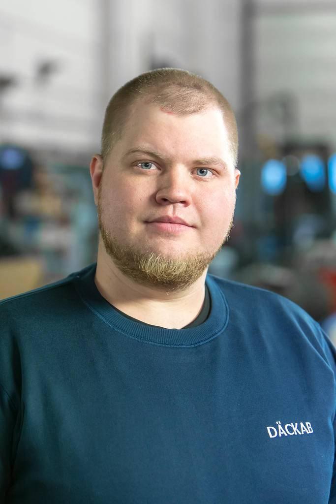 Mikko Kyngäs Däckab Sveg. Foto: Morgan Grip / Mediamakarna Grip