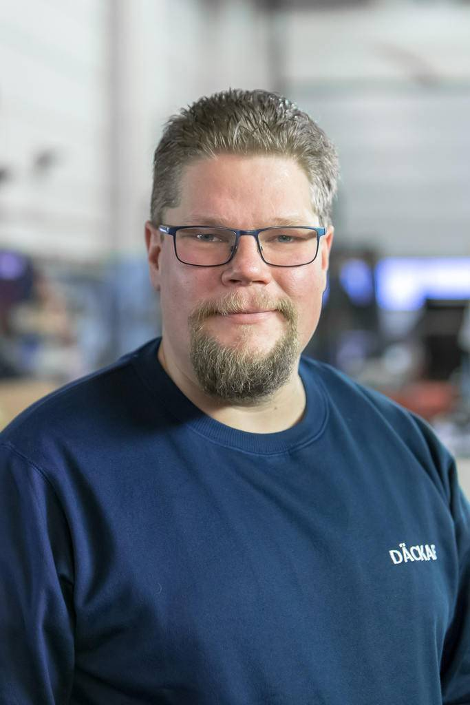 Jonas Hansson Däckab Sveg. Foto: Morgan Grip / Mediamakarna Grip