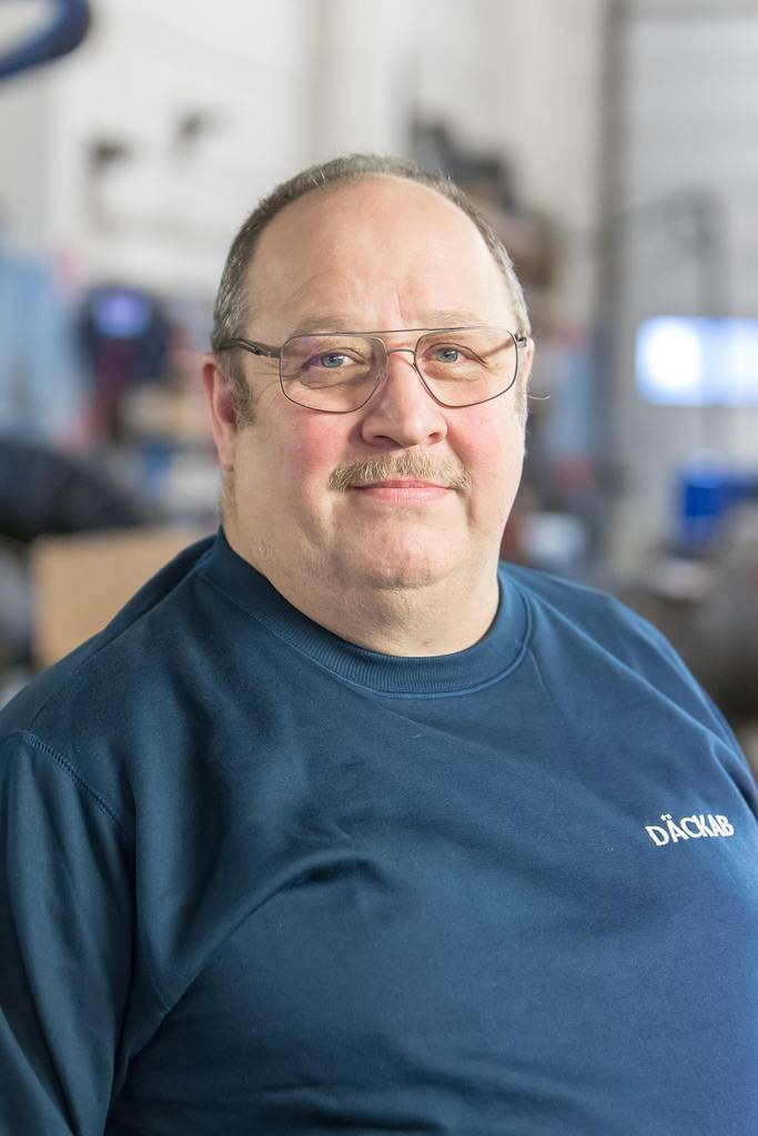 Kenneth Stener Däckab Sveg. Foto: Morgan Grip / Mediamakarna Grip
