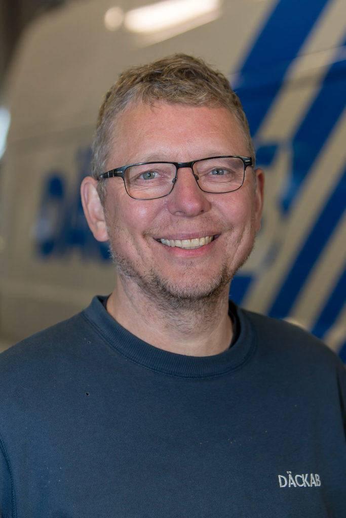 Lars Norin Däckab Hudiksvall. Foto: Morgan Grip / Mediamakarna Grip