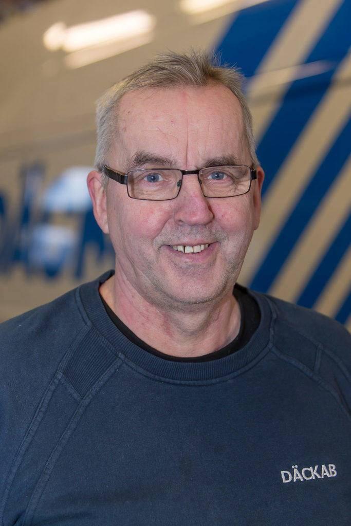 Lennart Nygren Däckab Hudiksvall. Foto: Morgan Grip / Mediamakarna Grip