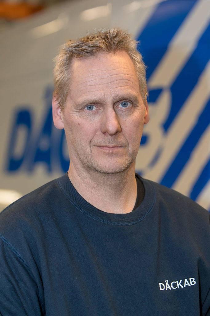 Örjan Strömberg Däckab Delsbo. Foto: Morgan Grip / Mediamakarna Grip