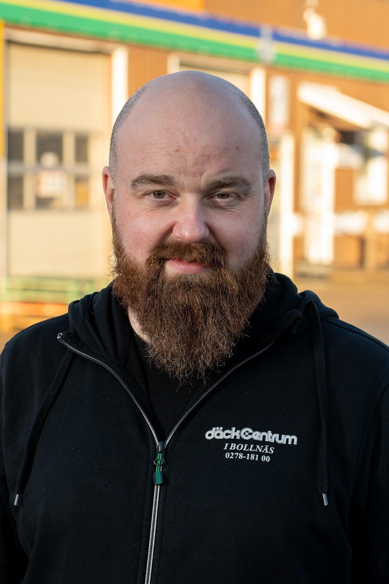Thomas Johansson Däckab Däckcentrum Bollnäs. Foto: Morgan Grip / Mediamakarna Grip