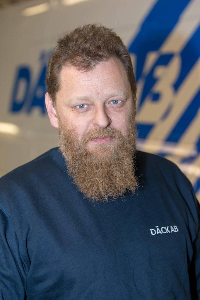 Daniel Eriksson Däckab Delsbo. Foto: Morgan Grip / Mediamakarna Grip