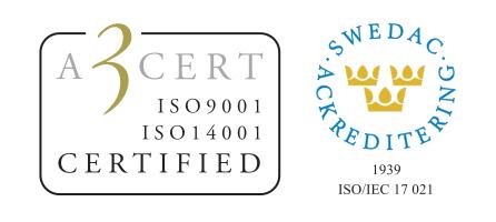 Däckabs verkstäder är Miljö-och Kvalitetscertifierade enligt Kvalitet ISO 9001:2015 och Miljö ISO14001:2015.